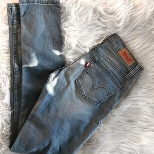 New w/o Tags 💞💞Levi's 524 skinny jeans